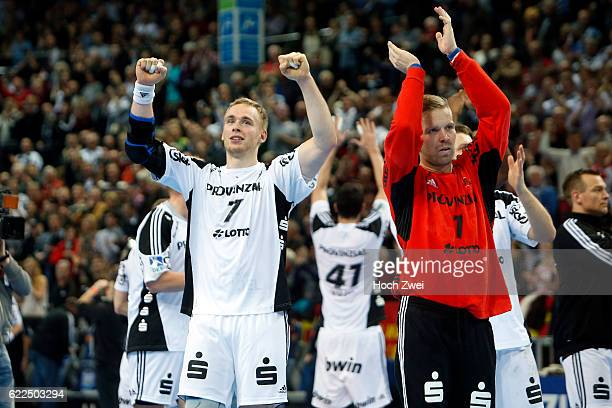 Bundesliga 2013/14, THW Kiel - HSV Handball: Rene Toft Hansen , Johan Sjöstrand // © xim.gs, www.xim.gs, picturedesk@xim.gs // Bankverbindung:...