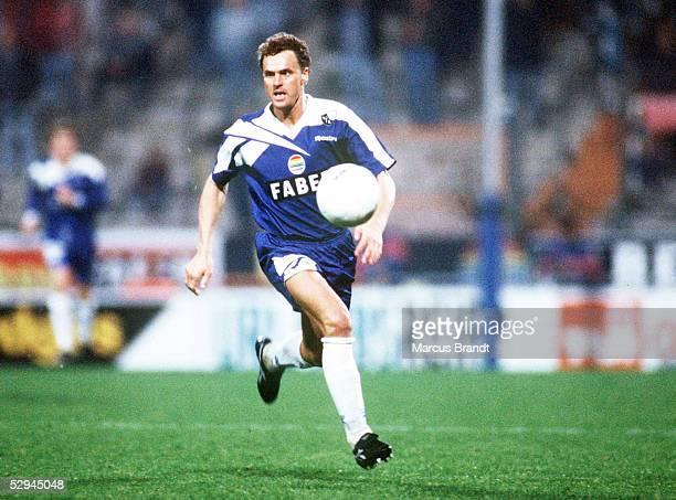 1 Bundesliga 94/95 Bochum VfL Bochum Bayer 05 Uerdingen 21 Roland WOHLFAHRT/Bochum