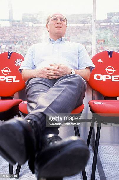1 Bundesliga 99/00 Muenchen FC Bayern Muenchen FC Hansa Rostock 41 Manager Uli HOENESS/Bayern