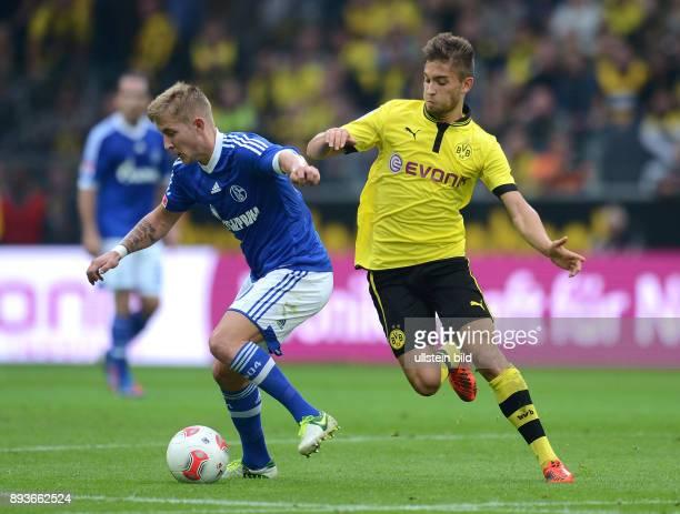 8 Spieltag Saison 2012/2013 Fussball 1 Bundesliga Saison 2012/2013 8 Spieltag Borussia Dortmund FC Schalke 04 Lewis Holtby gegen Moritz Leitner