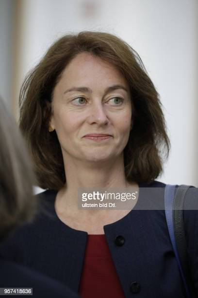 Bundesministerin für Familie Senioren Frauen und Jugend Dr Katarina Barley Deutschland Berlin Bundespressekonferenz Thema Nationaler Aktionsplan...