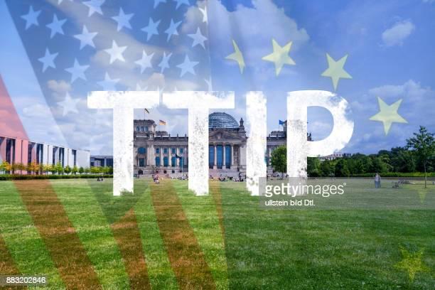 TTIP Bundestag Deutschland Symbolfoto