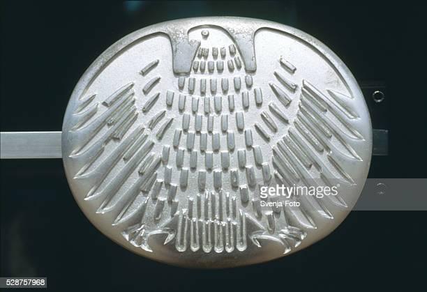 Bundestag door handle in Bonn