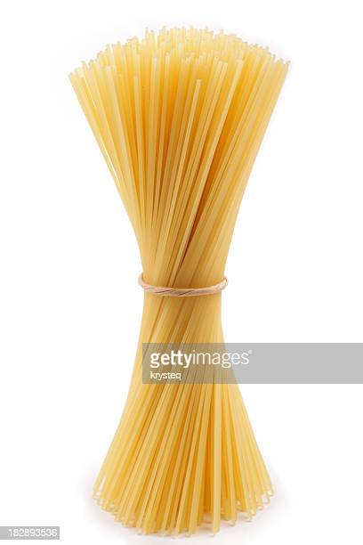 Bundle of spaghetti twisted together