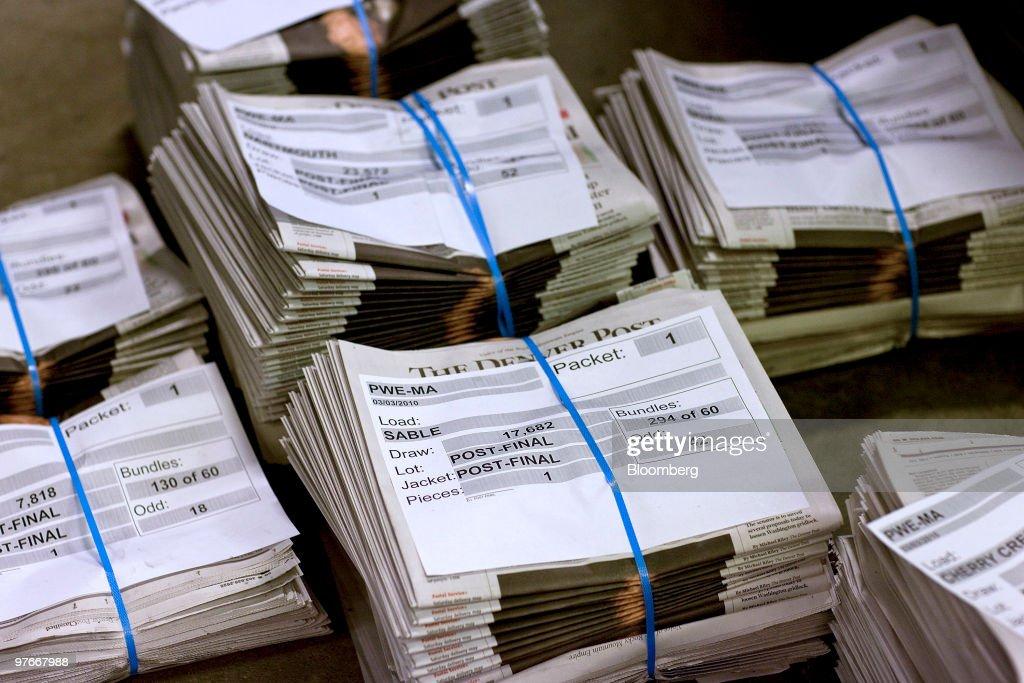 Denver Newspaper Agency Printing Facility : News Photo