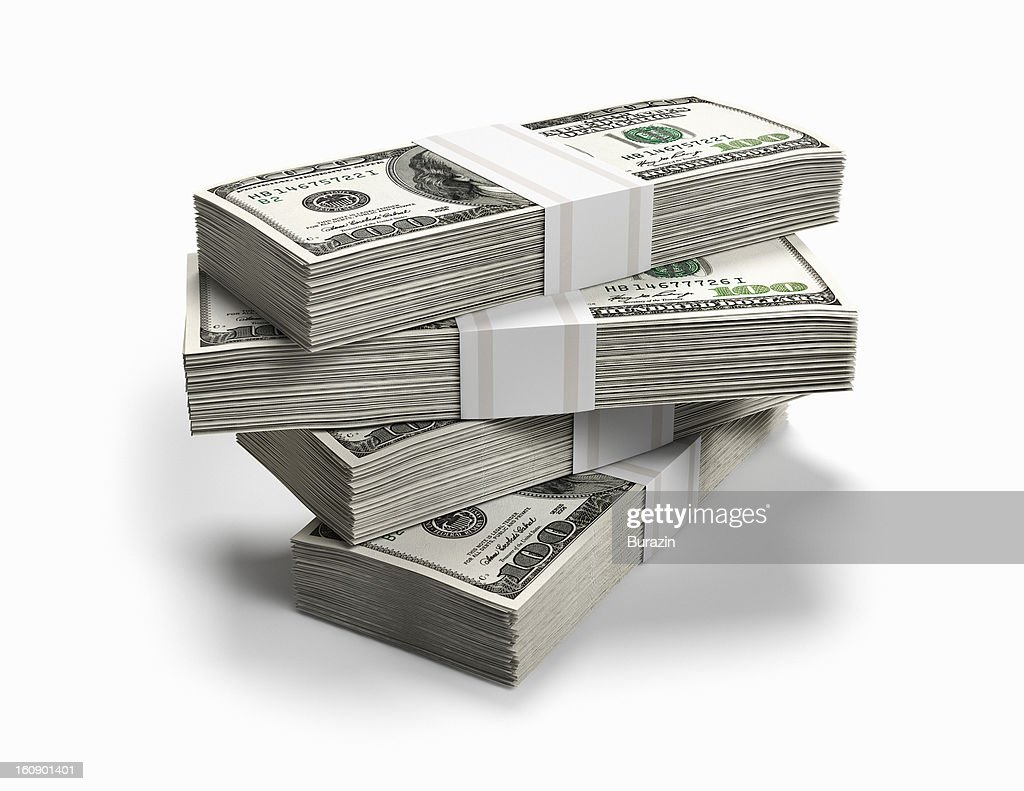 Bundles of money : Stock-Foto