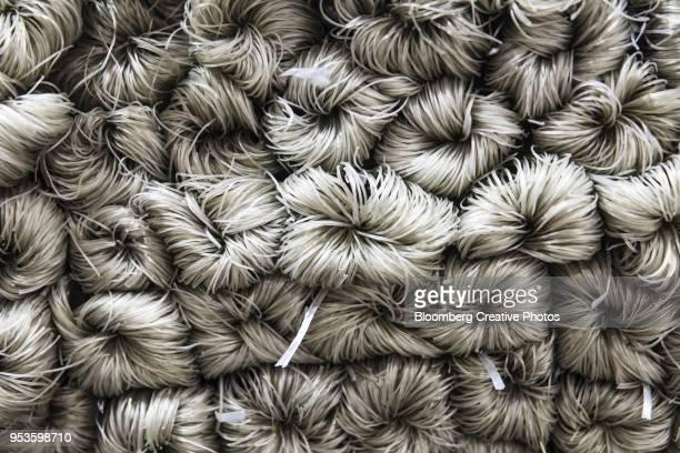 Bundles of vermicelli noodles