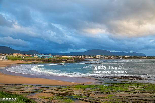 bundoran beach - county donegal stock photos and pictures