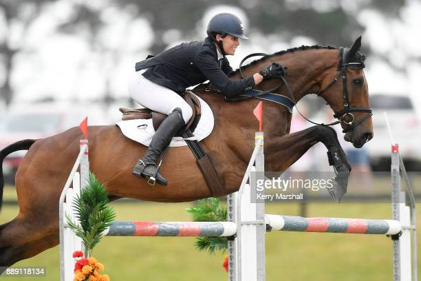 Bundy Philpott rides Tresca NZPH in the CCI*** during the Puhinui International Horse Trials on December 10 2017 in Auckland New Zealand