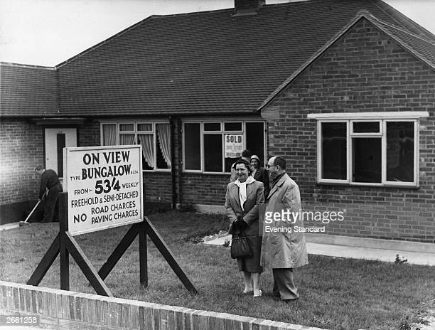 A bungalow show house in Maidstone Kent