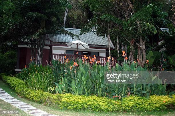 """Bungalow vom Hotel """"Central Karon Village"""", Karon Beach, Insel Phuket, Thailand, Süd-Ost-Asien, Reise, BB, DIG; P.-Nr.: 386/2005, ;"""