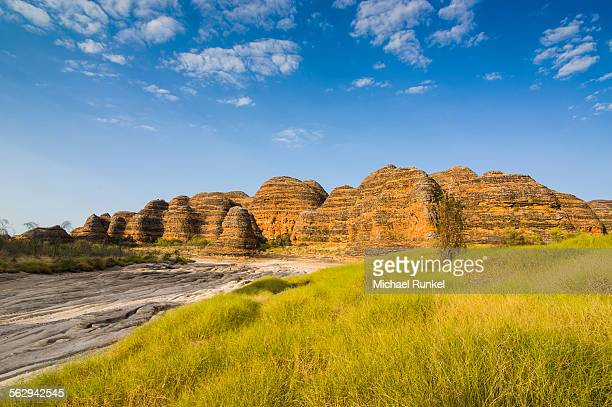Bungle Bungles, beehive-shaped sandstone towers, Purnululu National Park, UNESCO World Heritage Site, Eastern Kimberleys, Western Australia