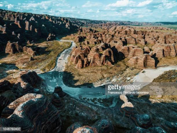 bungle bungles from above, purnululu national park, australia - francesco riccardo iacomino australia foto e immagini stock