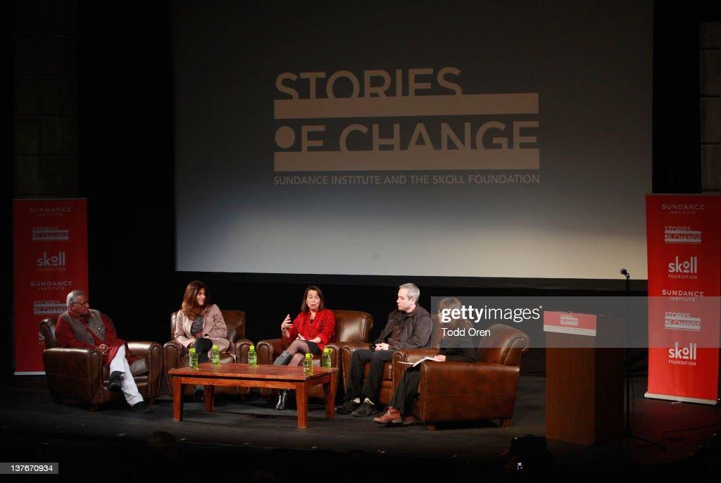 Skoll Foundation Panel: Celebrating Stories Of Change - 2012 Sundance Film Festival