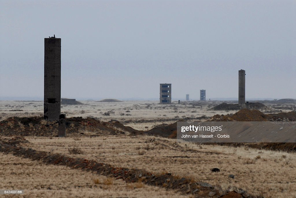 Kazakhstan - Health - Disease - Living in the Shadow of the A-Bomb - Semipatalinsk Nuclear Test Site : News Photo