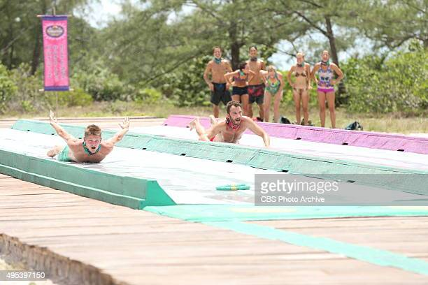 'Bunking With The Devil' Spencer Bledsoe and Stephen Fishbach during the sixth episode of SURVIVOR Wednesday Oct 28 The new season in Cambodia themed...