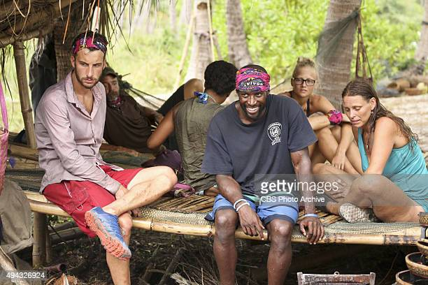 'Bunking With The Devil' Stephen Fishbach Jeremy Collins and Kimmi Kappenberg during the sixth episode of SURVIVOR Wednesday Oct 28 The new season in...