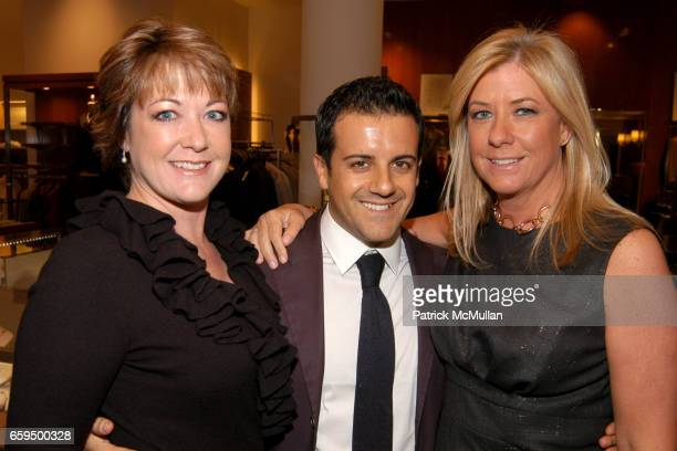 Bunky Griffin Amedeo Scognamiglio and Marie Griffin attend FARAONE MENNELLA at Richards of Greenwich for DebRA Bracelet Unveiling at Richards on...