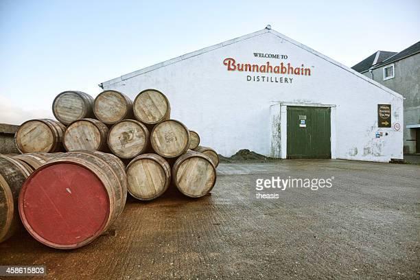 distilleria bunnahabhain - theasis foto e immagini stock