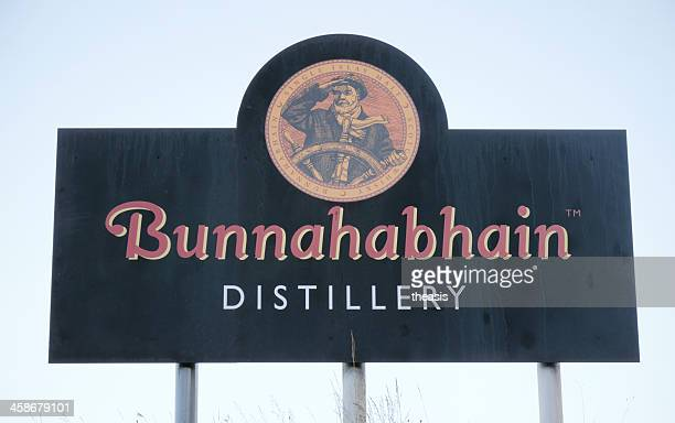 bunnahabhain distillery - theasis stock pictures, royalty-free photos & images