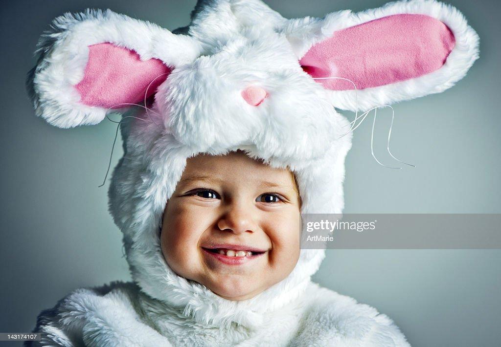 Bunny babe : Stock Photo