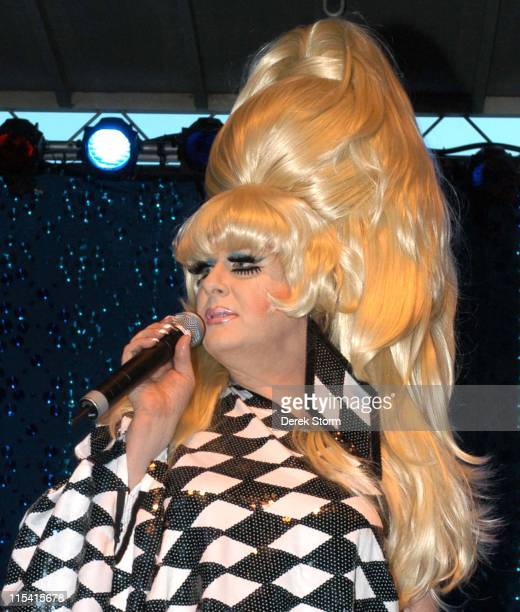 Bunny during Wigstock Festival 2005 at Tompkins Square Park in New York City, New York, United States.