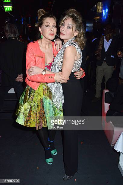 Bunny Godillot and Grace de Capitani attend the Jeweler Edouard Nahum 'Maya' New Collection Launch Party at La Gioia on December 4 2012 in Paris...