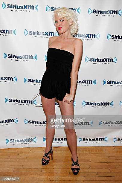 Bunny Ranch's Cami Parker visits SiriusXM Studio on November 16 2011 in New York City