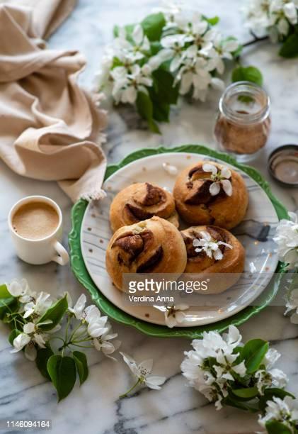 buns - sweet bun stock pictures, royalty-free photos & images