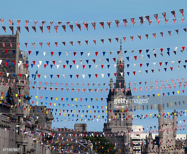 Bunting on Union Street, Aberdeen