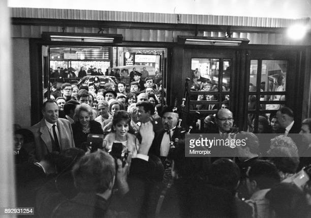Buona Sera Mrs Campbell film premiere at The Taming of the Shrew Royal Film Performance London Pavilion Thursday 6th February 1969 Our picture shows...