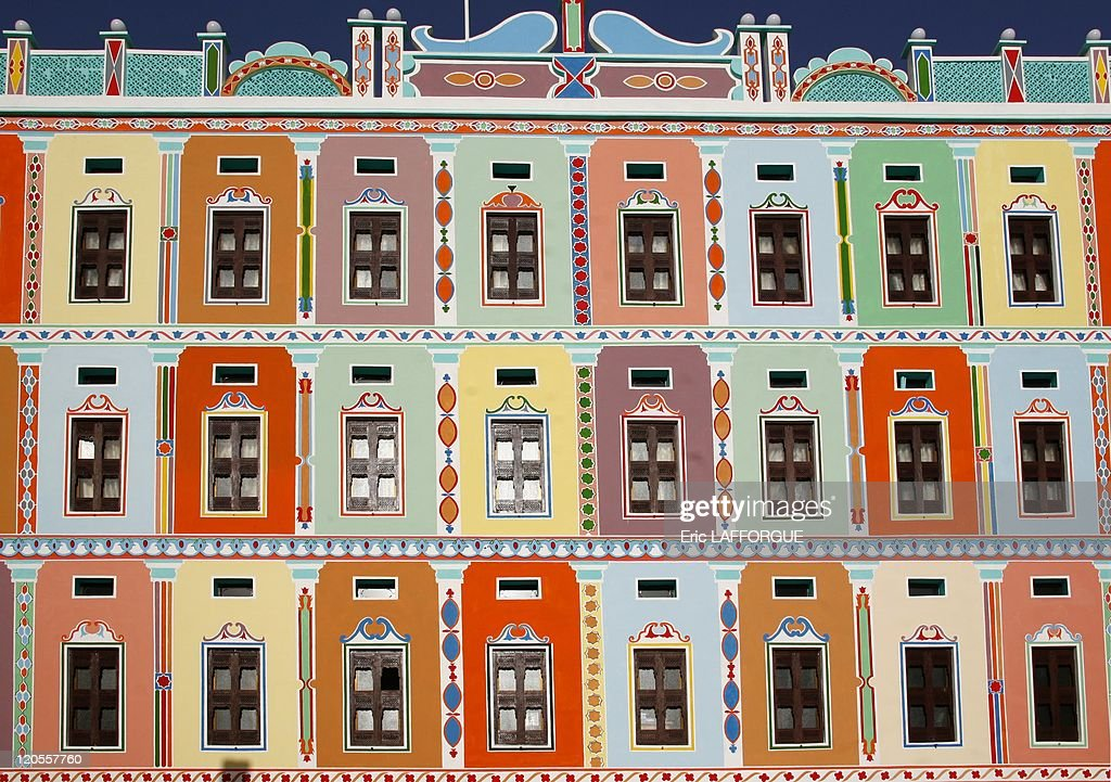 Buqshan Khaila Palace In Wadi Do'An In Yemen On May 17, 2006 - : News Photo