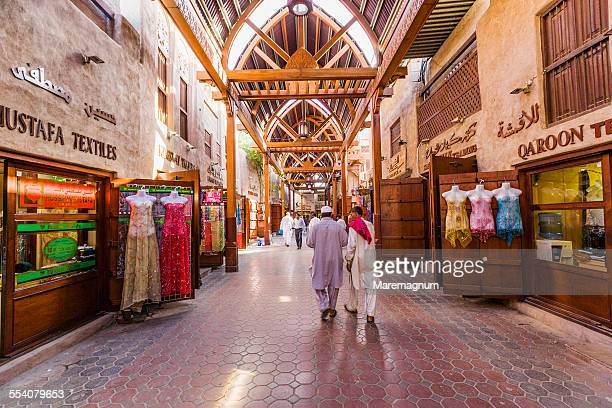 Bur Dubai, the Textile Souk