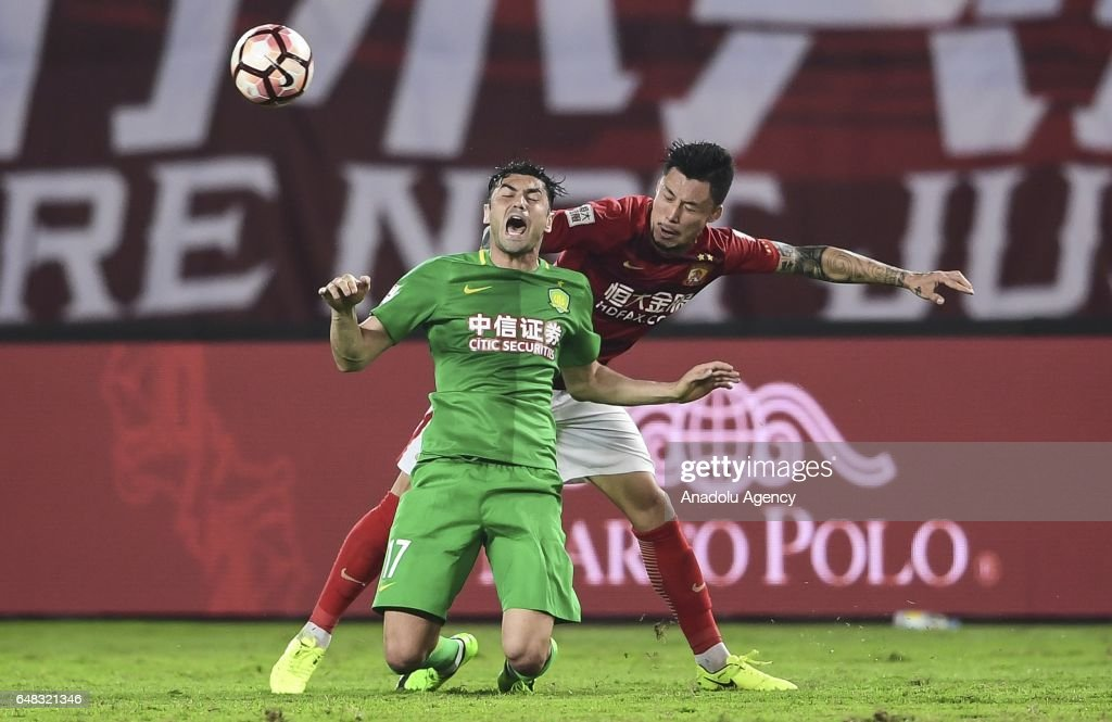 Guangzhou Evergrande v Beijing Guoan - China Super League : News Photo