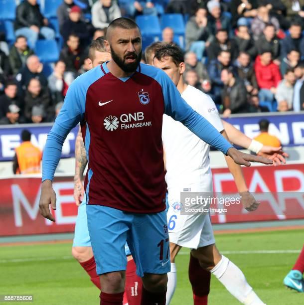 Burak Yilmaz of Trabzonspor during the Turkish Super lig match between Kasimpasaspor v Trabzonspor at the Recep Tayyip Erdoganstadion on December 9...