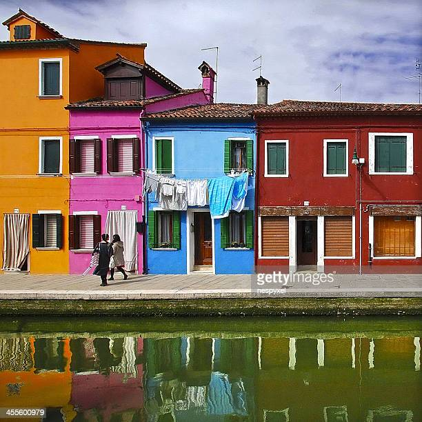 Burano tribute (7) - Living among the colors