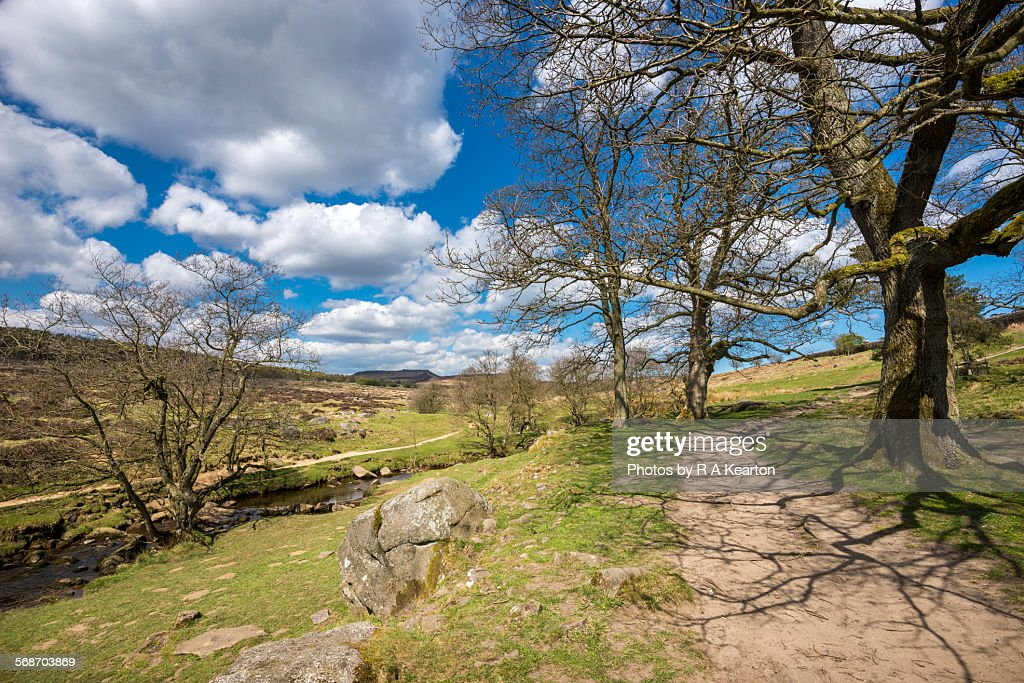Burbage brook, peak district, Derbyshire : Stock Photo