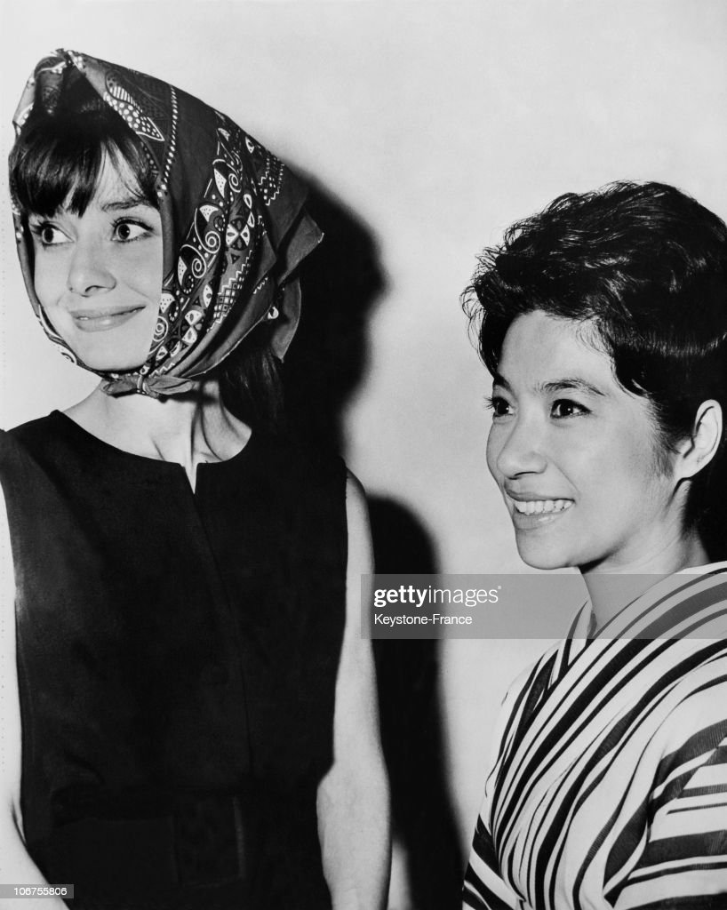 Burbank, Audrey Hepburn And Chiemi Eri For The Leading Role In My Fair Lady. February 6Th 1964 : News Photo