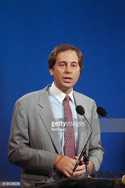 Brandon Tartikoff president of National Broadcasting Corporation's Entertainment Division tells the media that NBC is prepared to spend $50 million...