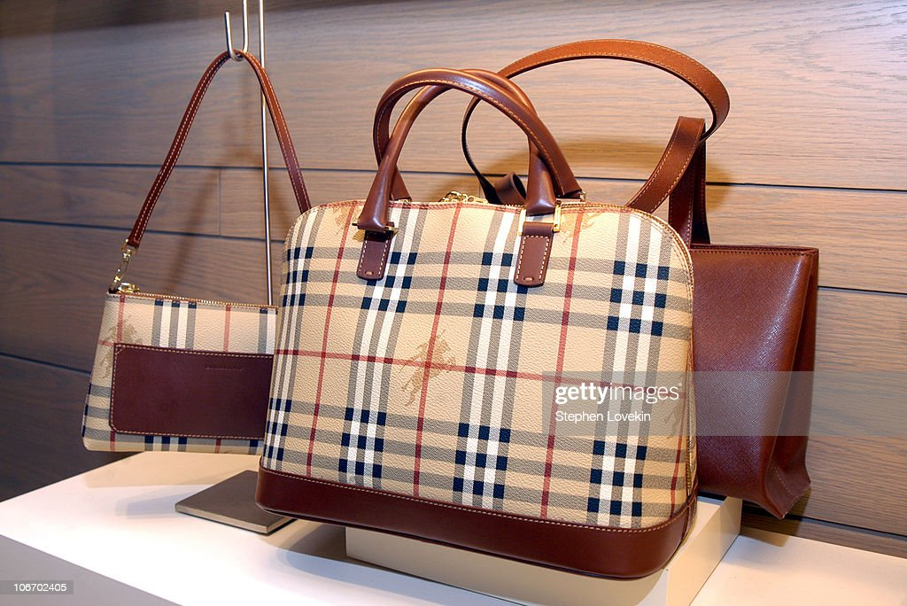 a88dfcf8 Burberry bags during Bloomingdale's Opens Burberry Accessory Shop ...