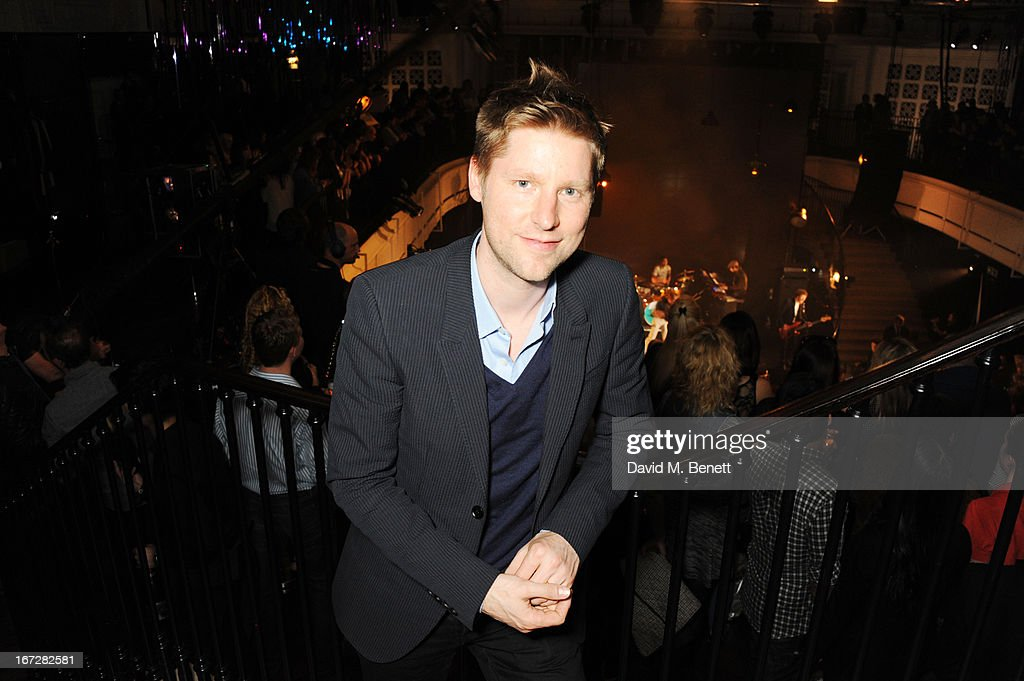 Burberry chief creative officer Christopher Bailey attends Burberry Live at 121 Regent Street at Burberry on April 23, 2013 in London, England.