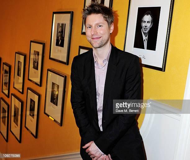 Christopher Bailey Fashion Designer Stock Photos and ...