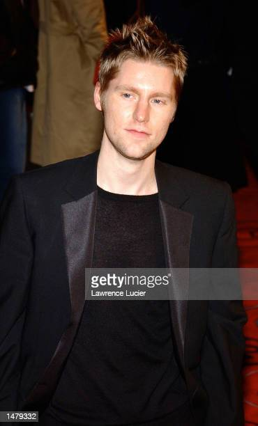 Burberry fashion designer Christopher Bailey attends the GQ Men of the Year Awards at Manhattan Center October 16, 2002 in New York City.