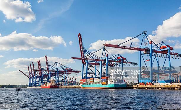 Burchardkai Container Terminal Hamburg