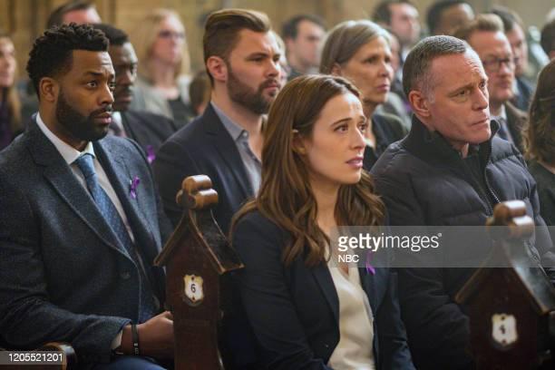 """Burden of Truth"""" Episode 716 -- Pictured: LaRoyce Hawkins as Kevin Atwater, Eamonn Walker as Wallace Boden, Patrick John Flueger as Adam Ruzek,..."""