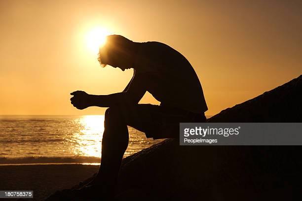 Burdened by unseen worries