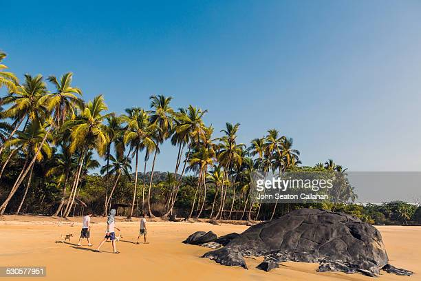 bureh beach - sierra leone stock pictures, royalty-free photos & images