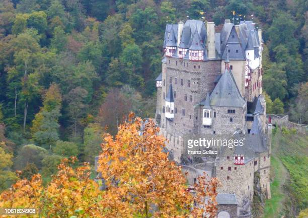 burg eltz castle near mosel valley, germany - frans sellies stock pictures, royalty-free photos & images