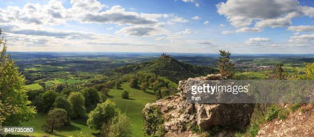 burg hohenzollern (hohenzollern castle) - (baden-württemberg/ germany) - local landmark stock pictures, royalty-free photos & images