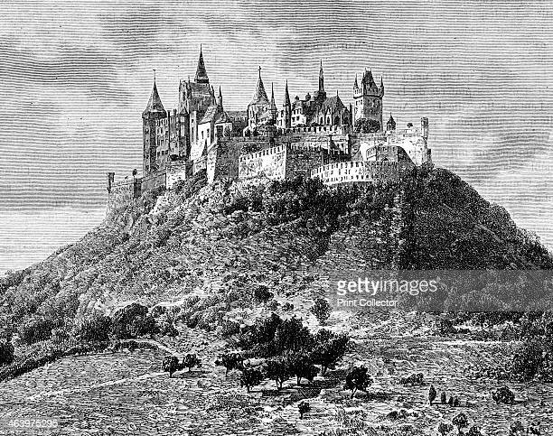 Burg Hohenzollern south of Stuttgart Germany 19th century